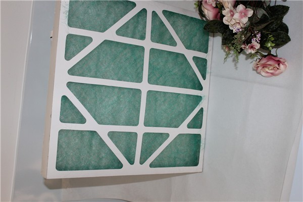 Glass Fiber Flat Panel Filter for hepa filter