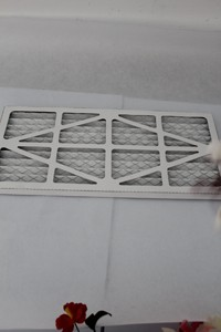 Panel Filter for hepa filter