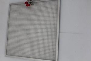 Synthetic Fiber Flat Panel Filter