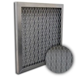 panel filter with metal mesh for air filter