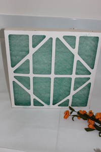 Glass Fiber Flat Panel Filter for hepa filter